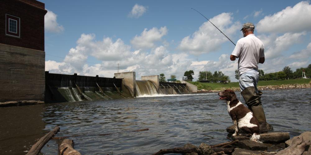 Fishing Cedar Valley Iowa