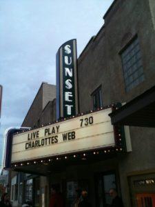 sunset theatre sumner $1 movie theater
