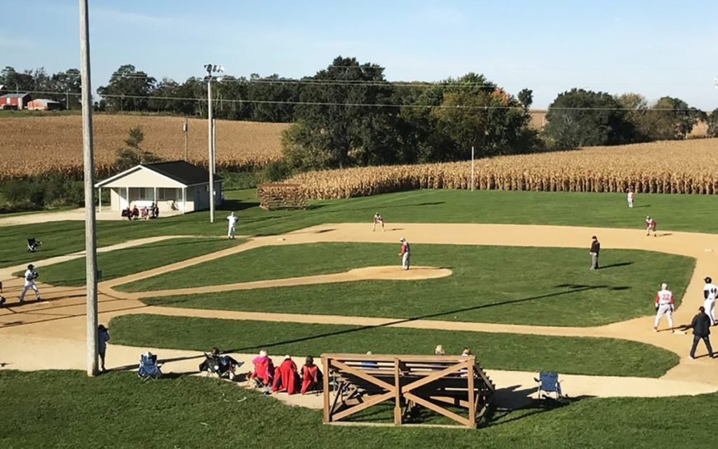 Field of Dreams baseball field in Dyersville Iowa part of Dubuque county.